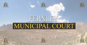 Fernley Municipal Court Nevada Traffic Ticket Pro Dan Lovell