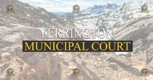 YERRINGTON Municipal Court Nevada Traffic Ticket Pro Dan Lovell