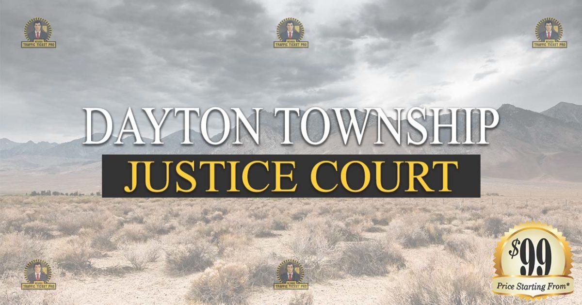 Dayton Justice Court Nevada Traffic Ticket Pro Dan Lovell