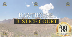 HAWTHORNE Justice Court Nevada Traffic Ticket Pro Dan Lovell