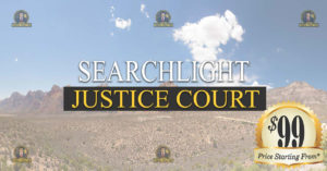SEARCHLIGHT Justice Court Nevada Traffic Ticket Pro Dan Lovell